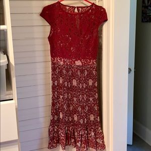Plenty by Tracy Reese Lace Top Dress